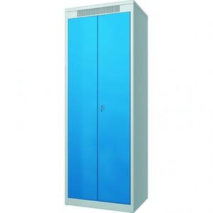 Шкаф металлический гардеробный ШМГ- 320, двустворчатая дверь, отсек для головного убора., арт: 97419