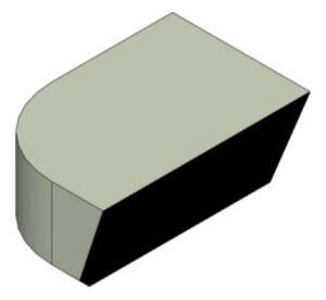 Пластина напайная 70561 Т5К10