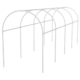 Каркас парника пластиковый 300 х 110 х 120 см, дуга D 20 мм, белый Palisad, арт: 63901