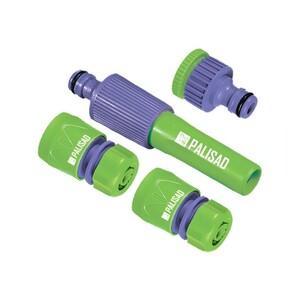 Набор для подключения шланга 1/2, распылитель, 3 адаптера к распылителю Palisad, арт: 65176