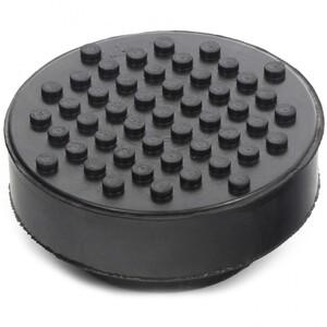 Резиновая опора для подкатного домкрата универсальная, D 72 мм, D 50, H 35 мм Matrix, арт: 50911