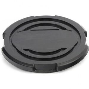 Резиновая опора для подкатного домкрата универсальная, D 100 мм, D 90, H 12 мм Matrix, арт: 50912