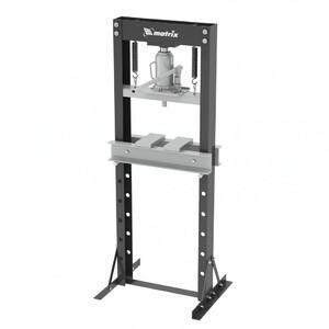 Пресс гидравлический, 20 т, 640 х 540 х 1500 мм. (комплект из 2 частей) Matrix, арт: 523205