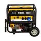 Генератор бензиновый PS 55 EA, 5.5 кВт, 230 В, 25 л, коннектор автоматики, электростартер Denzel, арт: 946874