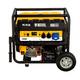 Генератор бензиновый PS 70 EA, 7.0 кВт, 230 В, 25 л, коннектор автоматики, электростартер Denzel, арт: 946894