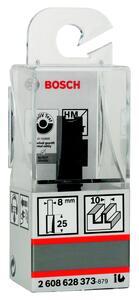 Фреза пазовая 10х25мм Bosch