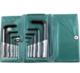 Набор ключей дюймовых шестигранных 1/16-3/8 в пластиковой упаковке (10шт) CrV