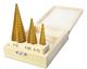Набор сверл ступенчатых Р6М5(HSS) TiN (4-32, 4-20, 4-12)