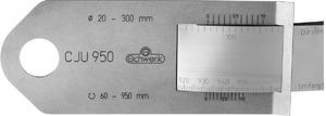 Стальная рулетка V2A для измерения окружности и  Ширина ленты – 35 мм 2200 мм, арт: 465684 2200