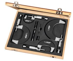 Набор микрометров 0-100 мм, арт: 420432 0-100