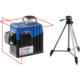 """Нивелиры лазерные """"Крест-2D"""" 360 градусов дальность 20/70м точн. 02 мм/м. Штатив Зубр 34907-2, арт: 34907-2"""