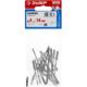 Заклепки алюминиевые, пакет, серия «МАСТЕР» Зубр 31300-40-14, арт: 31300-40-14