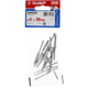Заклепки алюминиевые, пакет, серия «МАСТЕР» Зубр 31300-40-20, арт: 31300-40-20