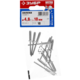 Заклепки алюминиевые, пакет, серия «МАСТЕР» Зубр 31300-48-18, арт: 31300-48-18