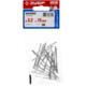 Заклепки алюминиевые, пакет, серия «МАСТЕР» Зубр 31300-32-15, арт: 31300-32-15